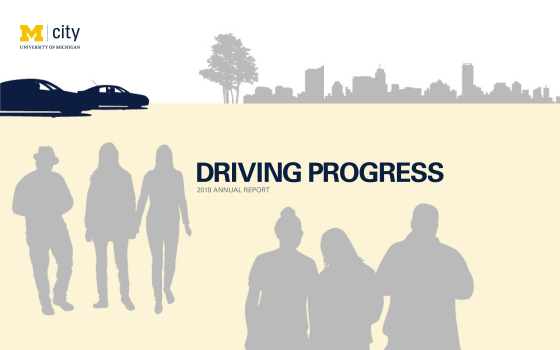 We're driving progress. Learn how in Mcity's 2019 Annual Report.